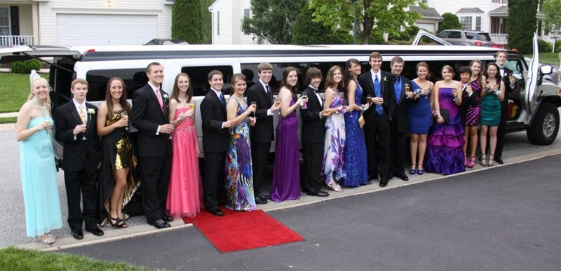 High School Prom Party Bus