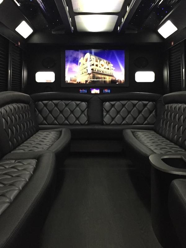 Classic Party Bus Interior