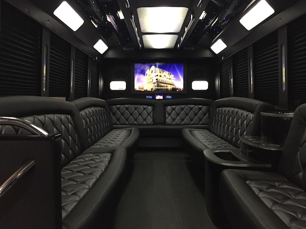 Large Party Bus Interior