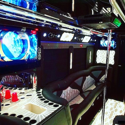 Rockstar Large Party Bus Bar