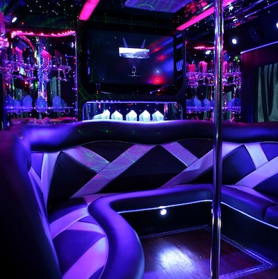 VIP Bus With Bar