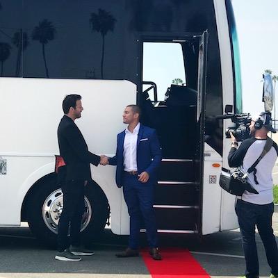 Boarding the PBG Bus