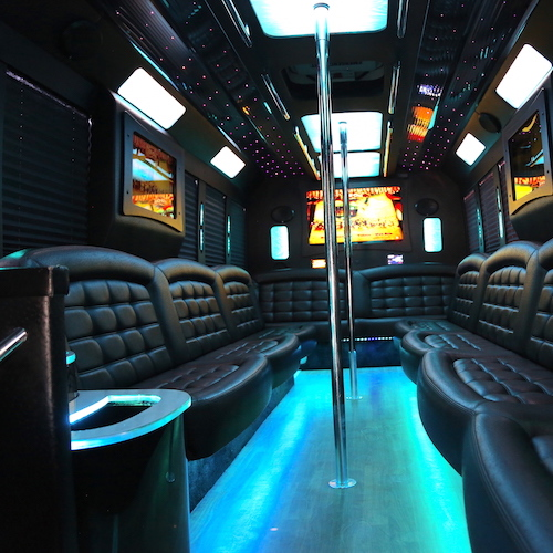 Diamond Party Bus