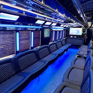 Ultimate Party Bus Interior